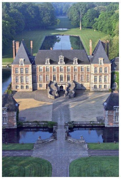 Les jardins de Courances s'étendent sur 75 hectares. (Photo RelaxNews)