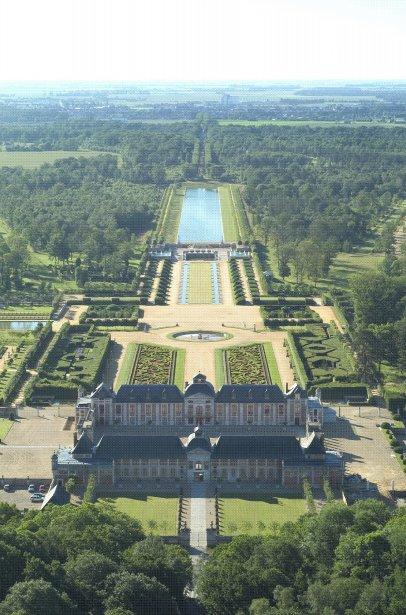 Les jardins du Champ de Bataille ont été entièrement reconstruits après 1993. (Photo RelaxNews)