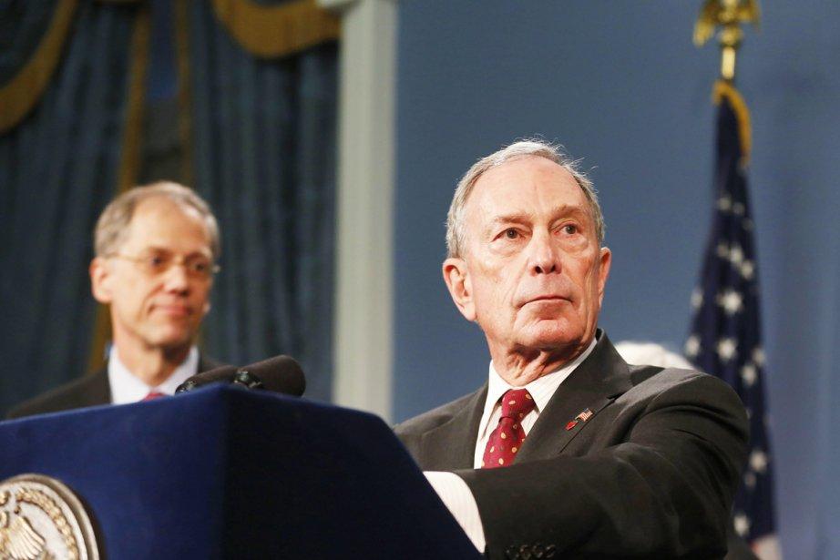Depuis qu'il est maire, Michael Bloomberg n'a cessé... (PHOTO BRENDAN MEXDERMID, REUTERS)