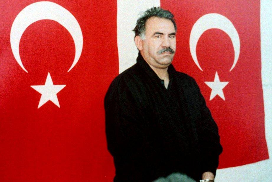 Le chef des rebelles kurdes du PKK AbdullahÖcalan... (PHOTO ARCHIVES REUTERS)