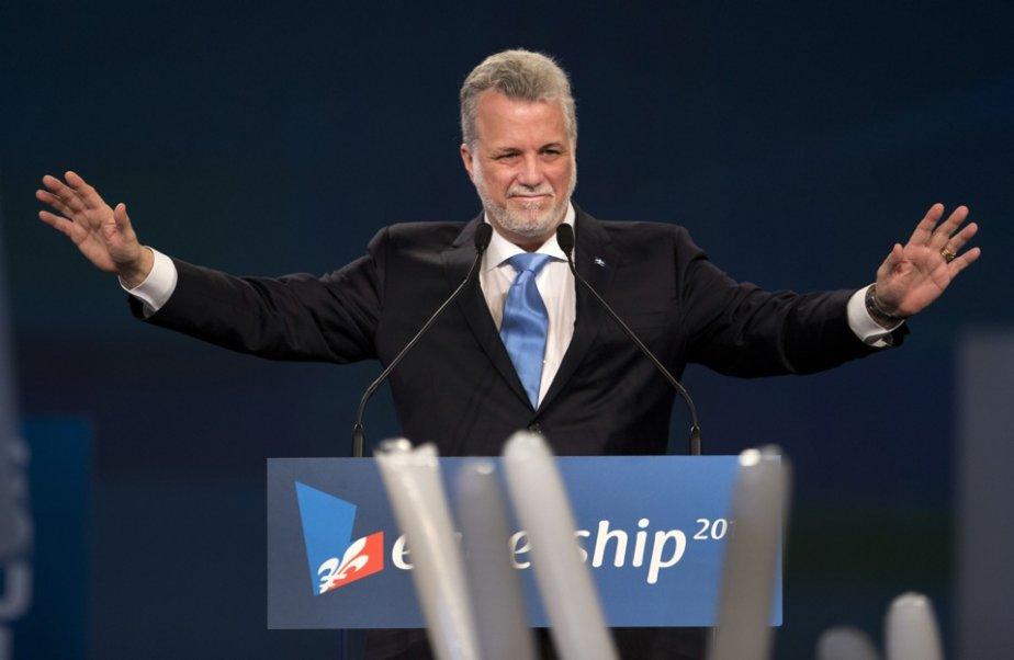 Le refus de Philippe Couillard de solliciter un... (La Presse, Robert Skinner)