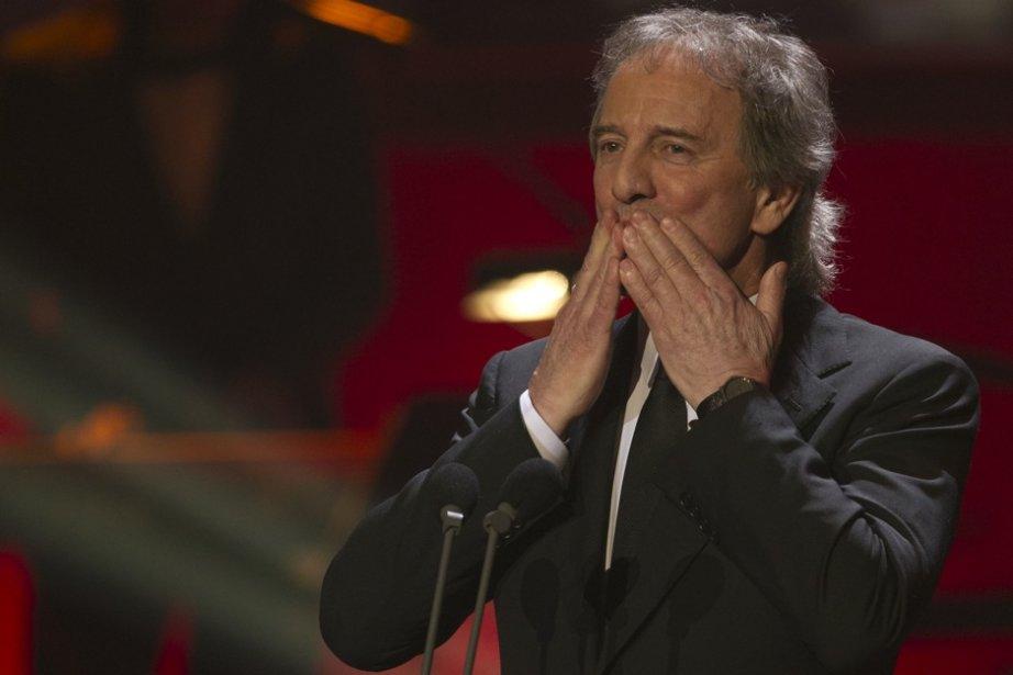 Au gala des prix Jutra, dimanche, Michel Côté... (Photo Olivier Jean, La Presse)