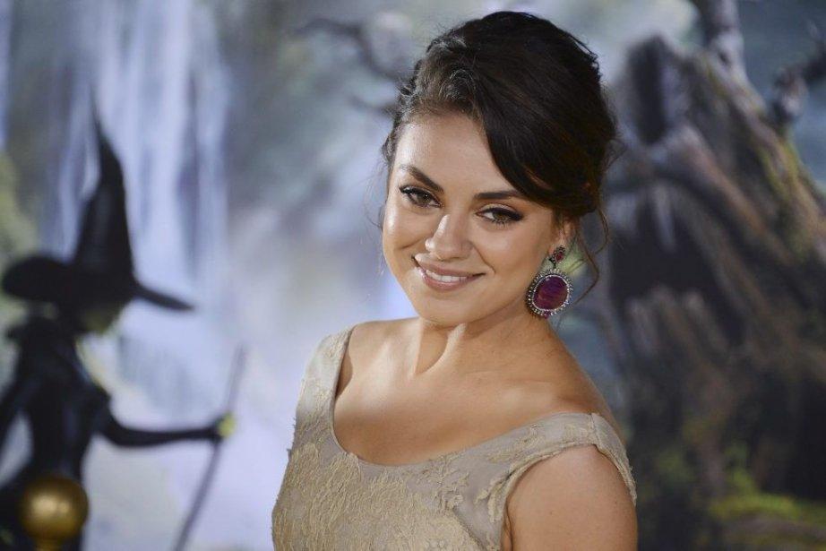 Mila Kunis à la première de Oz The... (Photo: AFP)