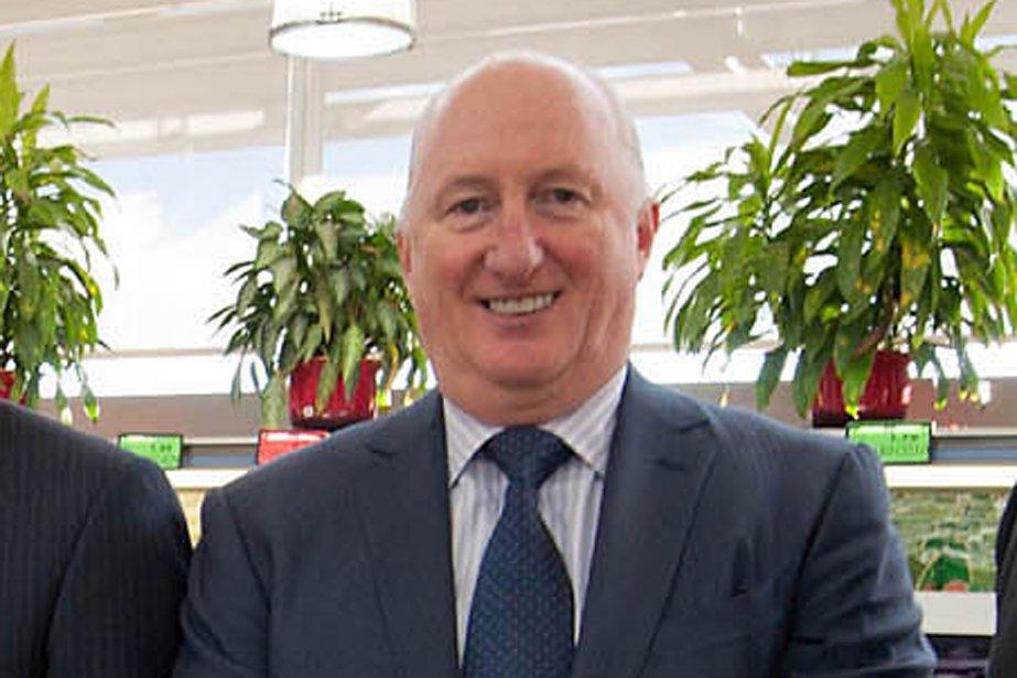 Robert Sawyer était vice-président exécutif et chef de... (Photo La Presse Canadienne)