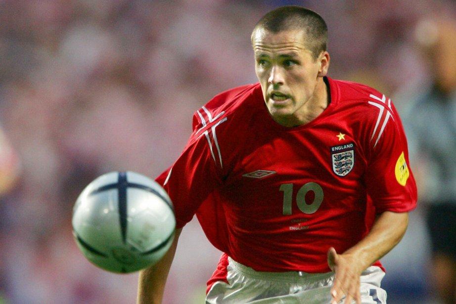 Michael Owen a inscrit 40 buts avec l'équipe... (Photo Luis Gene, archives AFP)