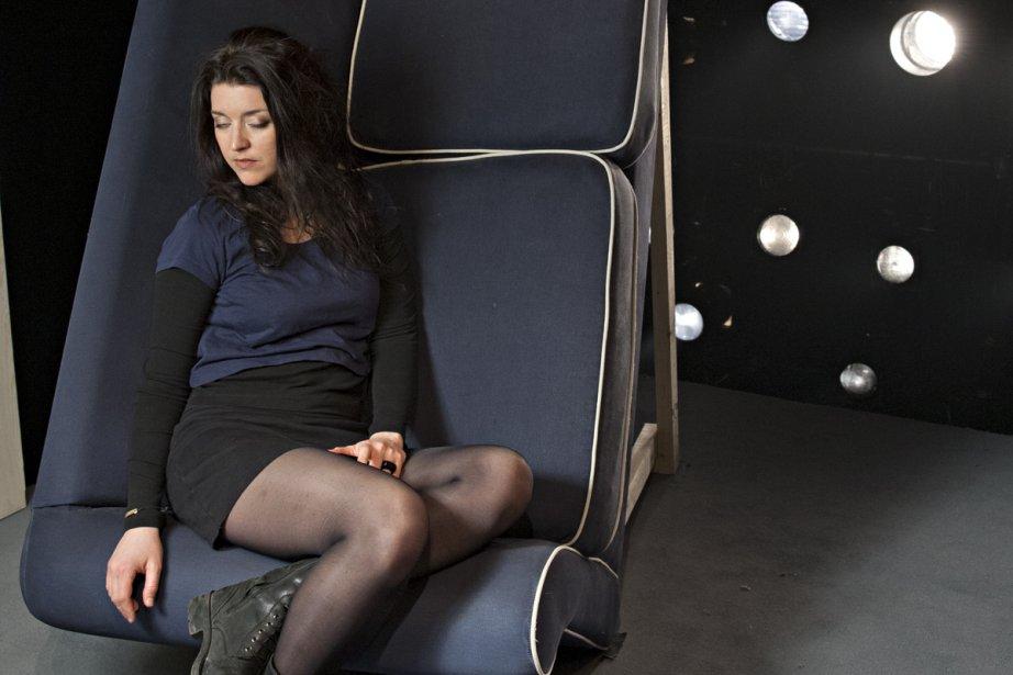 Marie-Ève Perron considère Gars comme un véritable échange... (Photo: David Boily, La Presse)