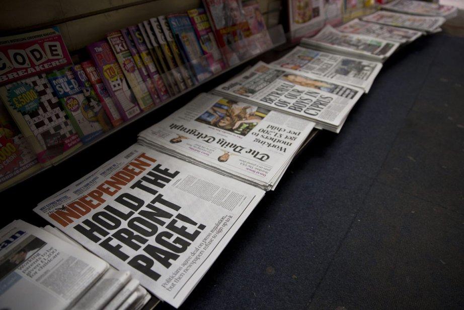 Plusieurs grands quotidiens nationaux ont publié un communiqué... (PHOTO Matt Dunham/ AP)