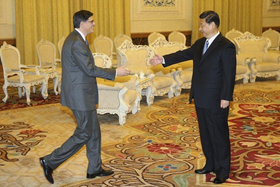 Le secrétaire du Trésor des États-Unis Jacob Lew... (PHOTO Feng Li/ REUTERS)
