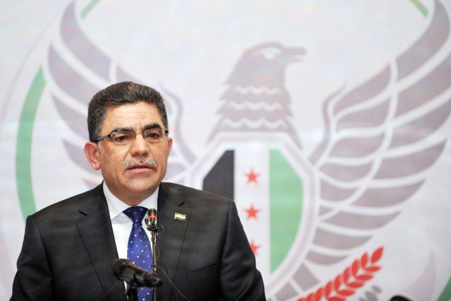 GhassanHitto a été élu premier ministre dans la... (PHOTO OZAN KOSE, AFP)
