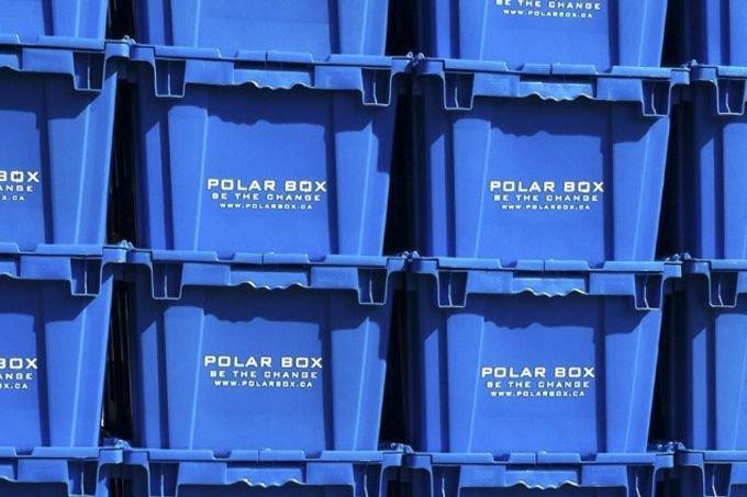 Boîtes de déménagement réutilisables Polarbox.... (PHOTO FOURNIE PAR POLARBOX)