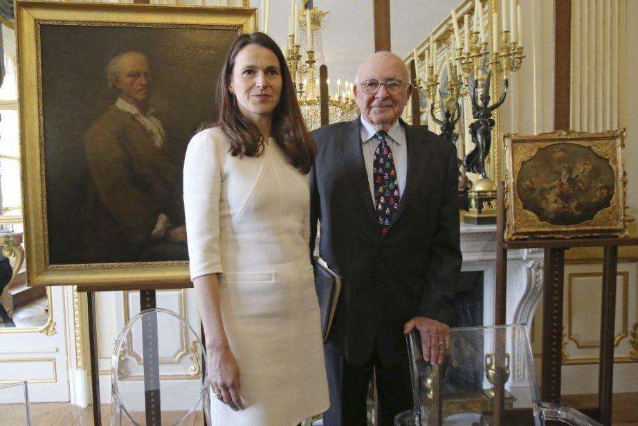 La ministre française de la Culture Aurélie Filippetti... (Photo: AP)