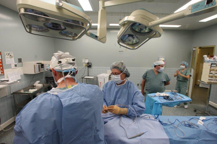 L'augmentation des remplacements articulaires a coûté, à elle... (Photo Martin Chamberland, La Presse)
