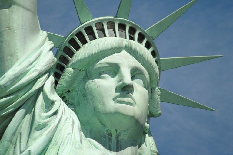 La Statue de la Libertéétait fermée au public... (Photo Naaman Abreu/Shutterstock.com)
