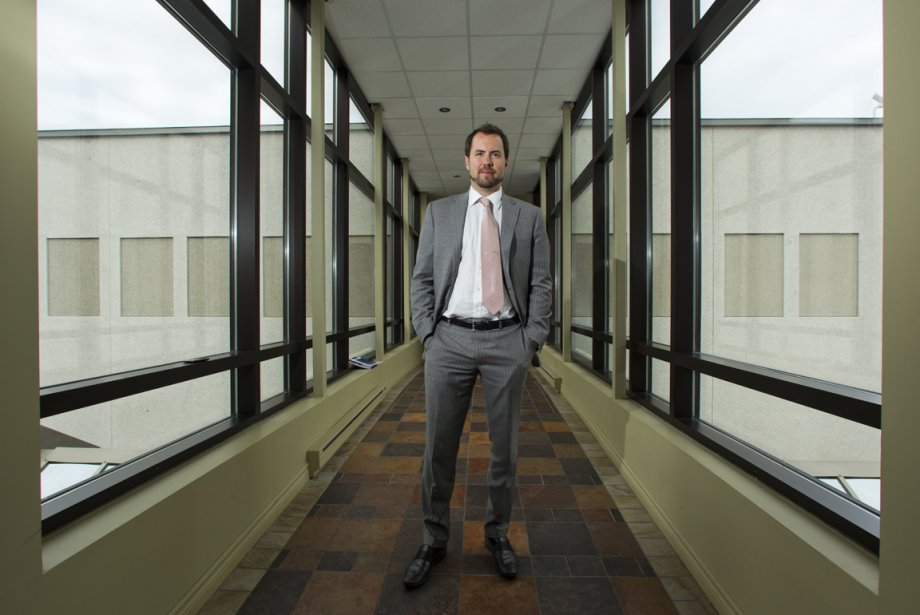 M. Mathieu Duguay, vice-president executif, Gestion immobiliere Cogir... (Photo Martin Chamberland, La Presse)