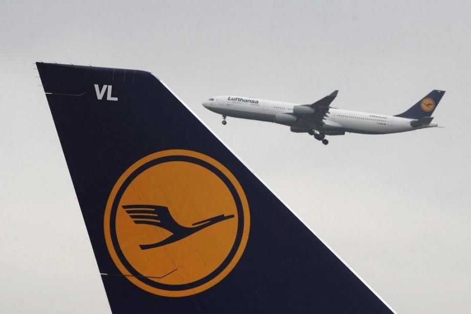 Près de 500vols de la compagnie aérienne allemande... (Photo Fredrik von Erichsen, Associated Press)