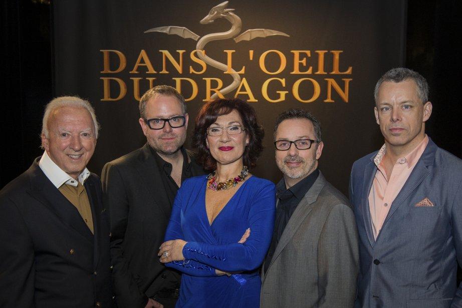 Gaétan Frigon, Alexandre Taillefer, Danièle Henkel, Serge Beauchemin... (Photo: Édouard Plante-Fréchette, La Presse)
