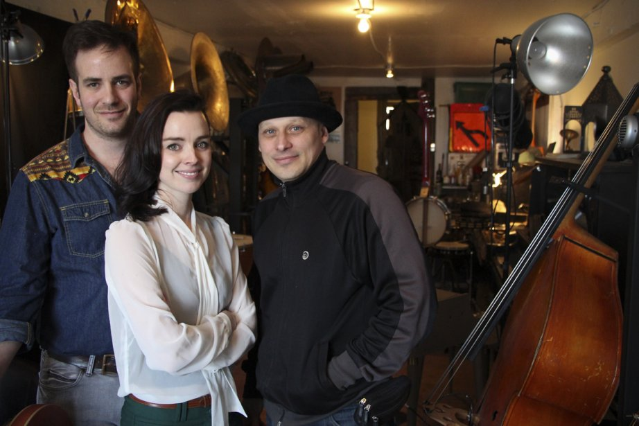 Robin-Joël Cool, Viviane Audet et Érik West-Millette, auteurs... (Photo: Sira Chayer, La Presse)