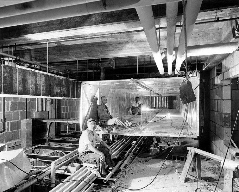Travaux du système de ventilation au sous-sol | 20 mars 2013
