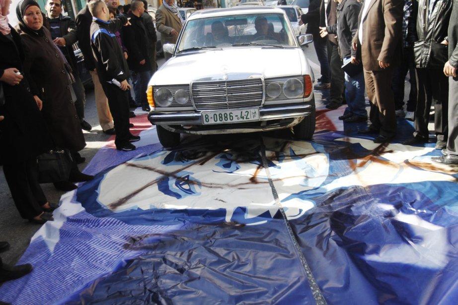 Manifestation à Bethléem contre la visite du président américain | 20 mars 2013
