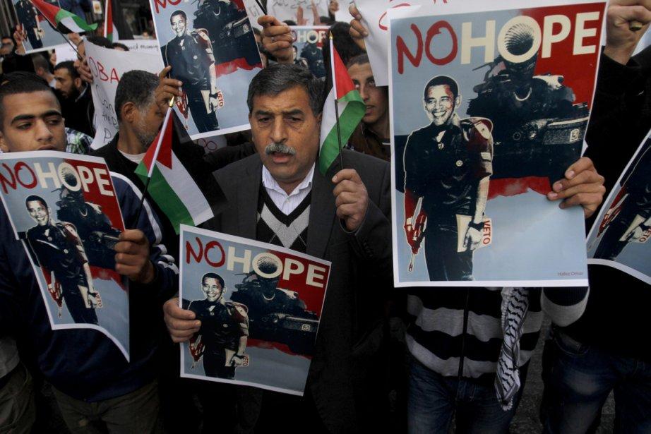 Manifestations antiaméricaines à Ramallah | 20 mars 2013