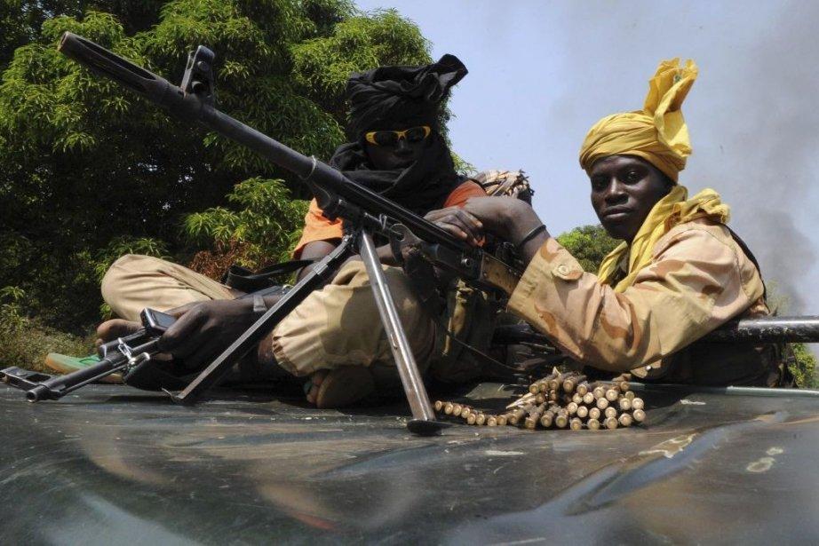 Les rebelles de Séléka.... (Photo Sia Kambou, Agence France-Presse)