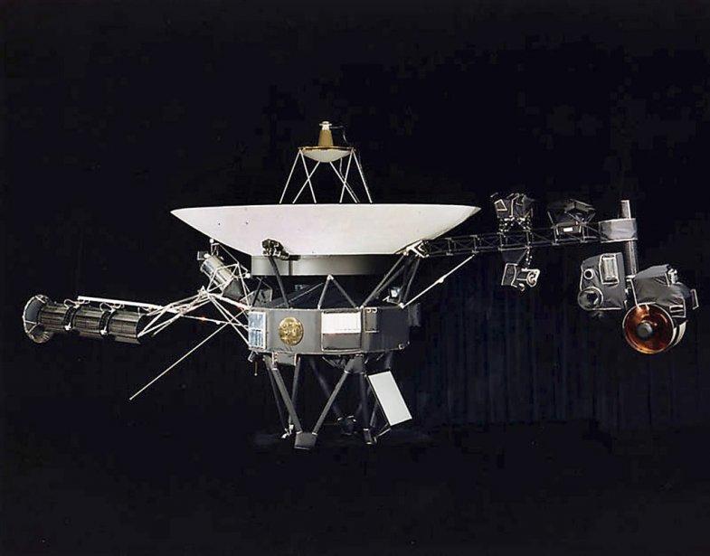 Voyager 1, lancée en 1977, se trouvait en... (Photo NASA)