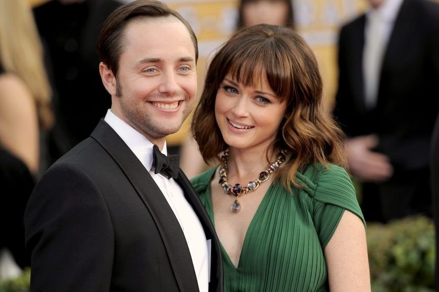 Vincent Kartheiser et Alexis Bledel... (Photo: AP)