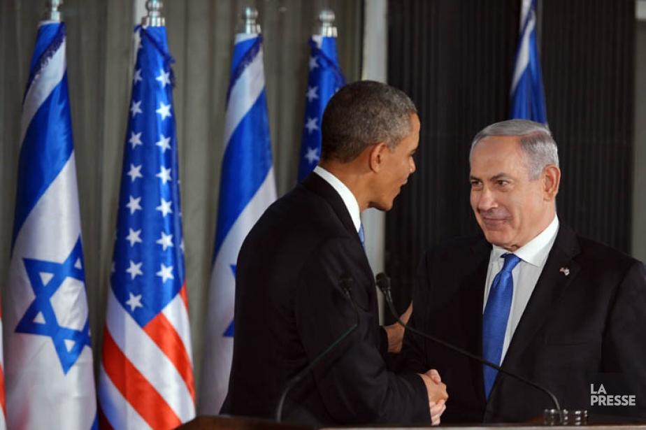 BenyaminNétanyahou a remercié Barack Obama de «défendre sans... (Photo: AFP)