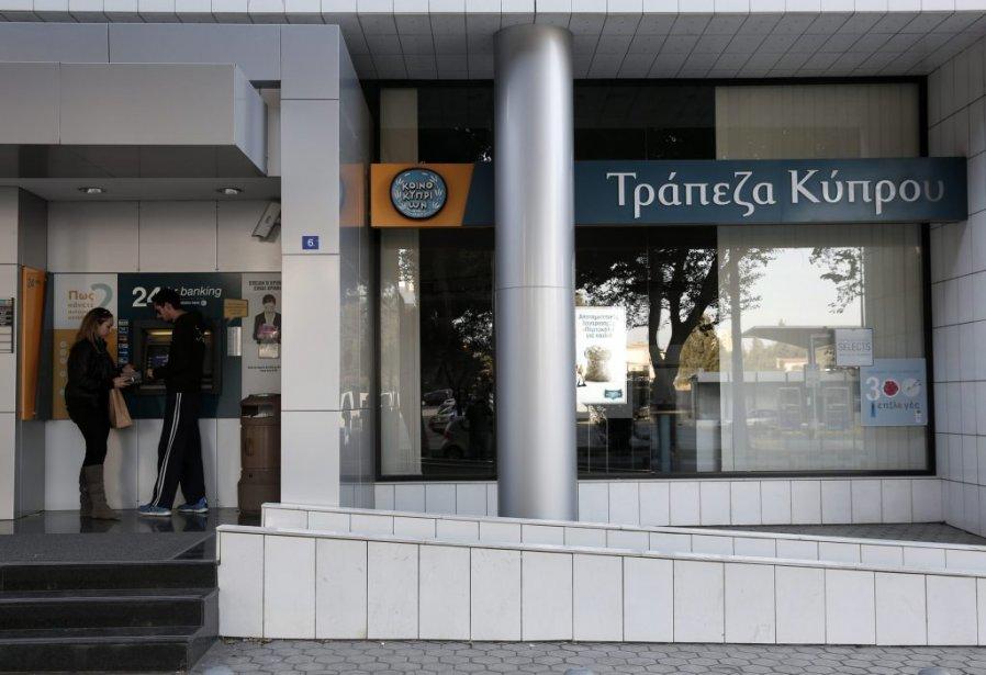 Les établissements financiers, qui n'ont pas rouvert après... (Photo YORGOS KARAHALIS, REUTERS)