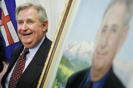 L'ancien premier ministre albertain Ralph Klein.... (Photo: PC)