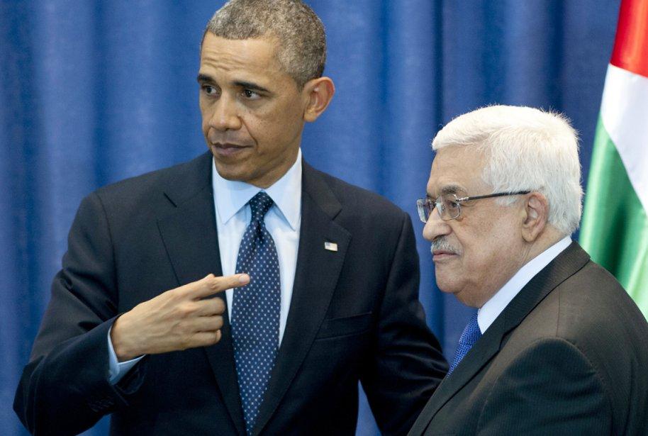 Le président américain Barack Obama est reçu à... (PHOTO SAUL LOEB, AFP)