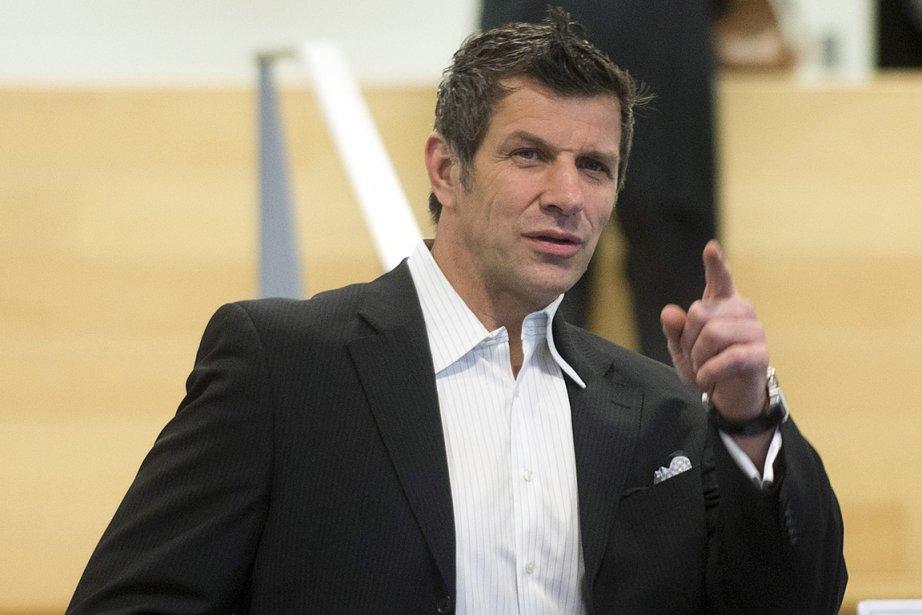 Le directeur général du Canadien, Marc Bergevin.... (Photo Graham Hughes, PC)