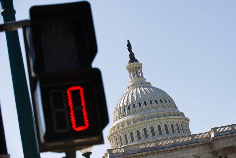 L'État fédéral a besoin d'un vote du Congrès... (PHOTO NICHOLAS KAMM, AFP)