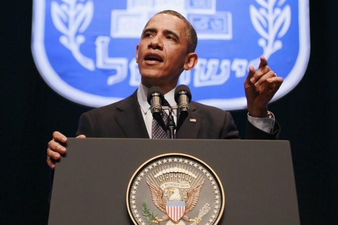 Barack Obama a prononcé un discours devant des... (PHOTO JASON REED, REUTERS)
