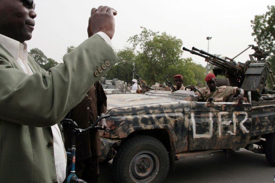 «Nous avons décidé de reprendre la lutte. C'est... (NELLY STADERINI/ AFP)