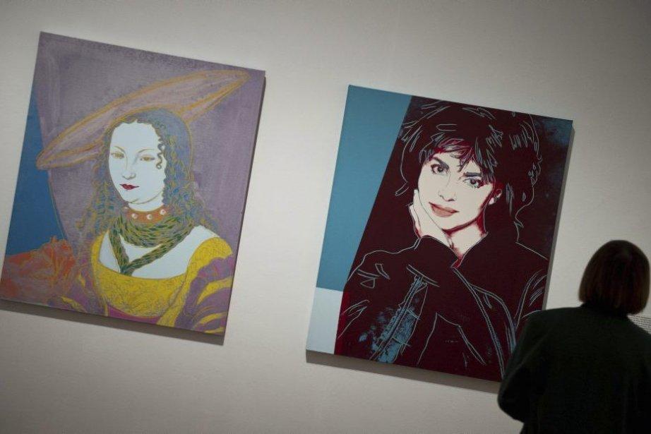 Deux portraits d'Andy Warhol... (Photo: AFP)
