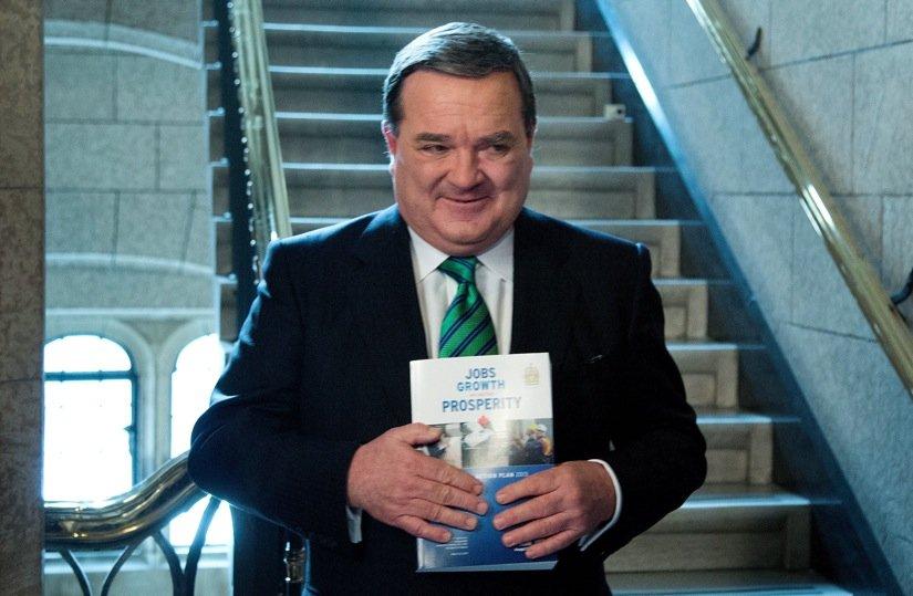Le ministre fédéral des Finances, Jim Flaherty, a... (Photo Patrick Doyle, La Presse Canadienne)
