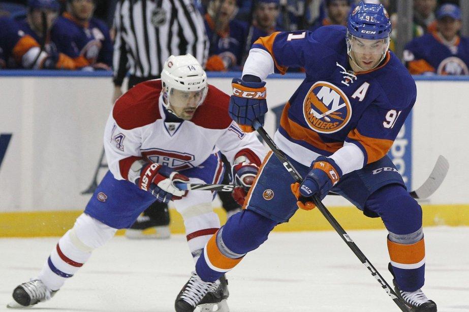 Tomas Plekanec et John Tavares... (Photo Shannon Stapleton, Reuters)