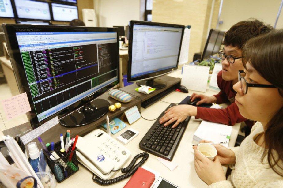 La cyberattaque qui a paralysé des milliers d'ordinateurs sud-coréens plus tôt...