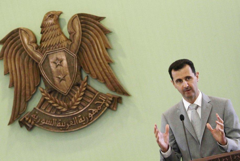 «Je jure au peuple syrien que ton sang... (PHOTO LOUAI BESHARA, ARCHIVES AFP)