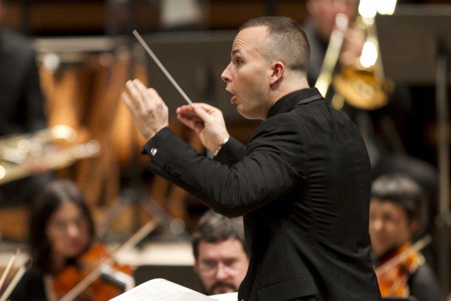 Au cours de la saison 2013-2014 de l'Orchestre... (Photo: Hugo-Sébastien Aubert, archives La Presse)