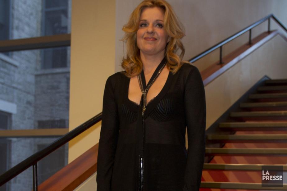 Sylvie Moreau lors de la soirée des Jutra... (Photo: Olivier Jean, archives La Presse)