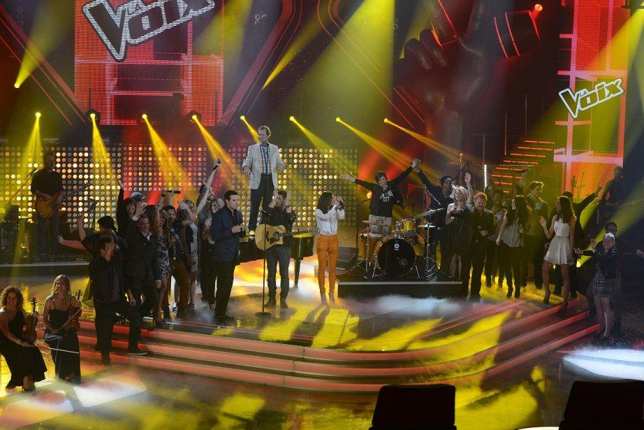 La voix... (Photo: fournie par Productions J)