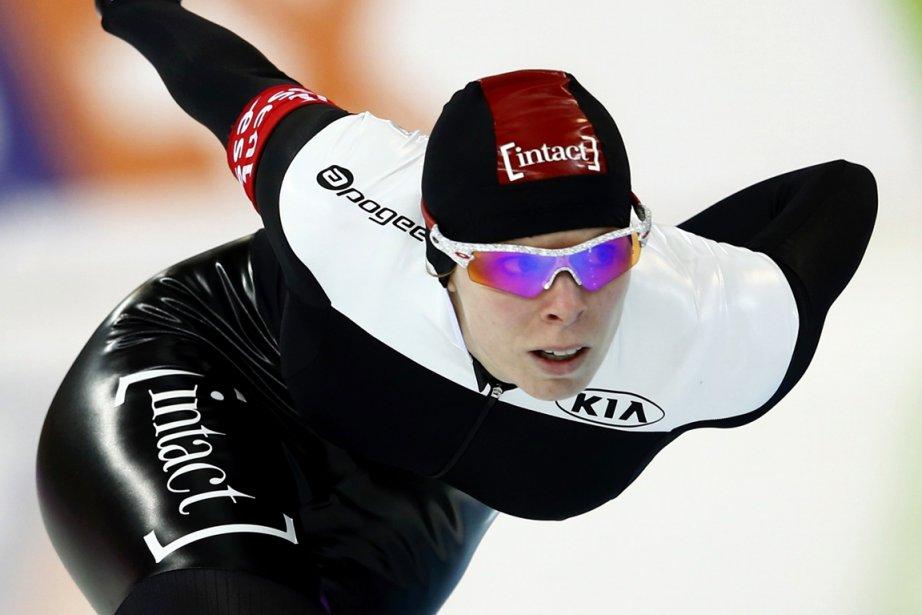 Championne du monde en titre du 1500 mètres,... (Photo Grigory Dukor, AP)