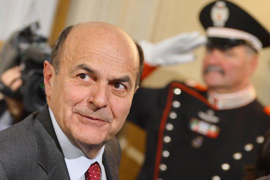 Le leader de la gauche italienne Pier Luigi... (PHOTO VINCENZO PINTO, AFP)