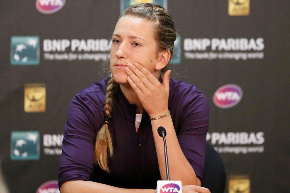 Victoria Azarenka souffre d'une blessure à la cheville... (Photo Danny Moloshok, Reuters)