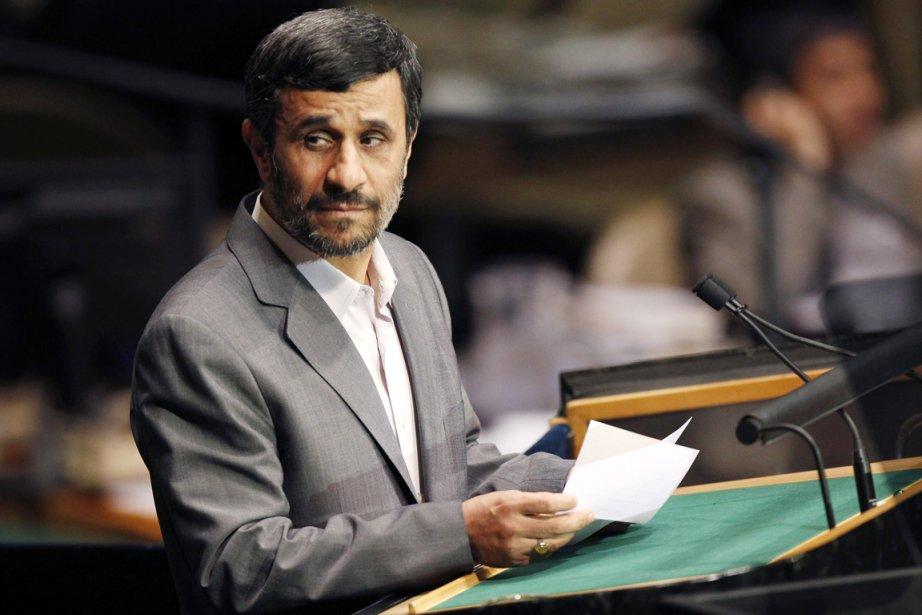 Le président iranien Mahmoud Ahmadinejad.... (PHOTO SETH WENIG, ARCHIVES AP)