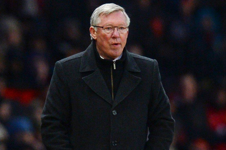 L'entraîneur de Manchester United, Alex Ferguson.... (Photo Andrew Yates, AFP)