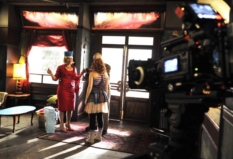 Plateau de tournage de Motel Monstre | 22 mars 2013
