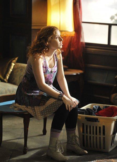 Gabrielle Fontaine (Magalie) sur le plateau de tournage de Motel Monstre | 22 mars 2013
